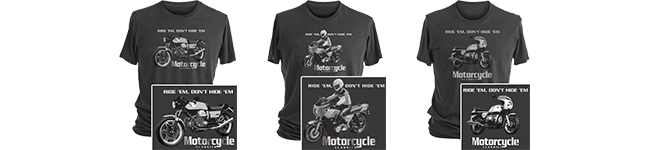 Exclusive Ride 'Em, Don't Hide 'Em T-Shirts!