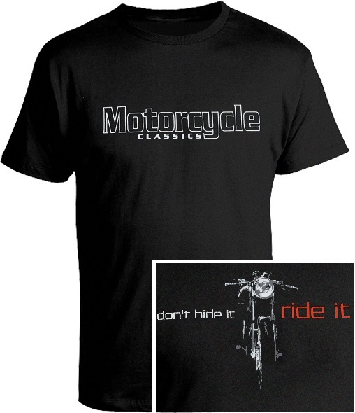 T-SHIRT, MOTORCYCLE CLASSICS, SMALL