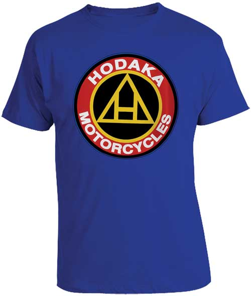 HODAKA T-SHIRT, BLUE (SMALL)