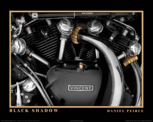 BLACK SHADOW PRINT