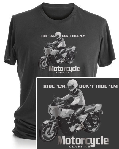 MOTORCYCLE CLASSICS SHORT SLEEVE T-SHIRT (S) - KZ1000