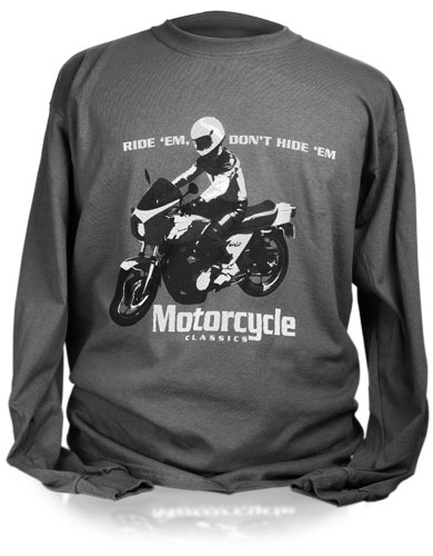 MOTORCYCLE CLASSICS LONG SLEEVE T-SHIRT (L) - KZ1000