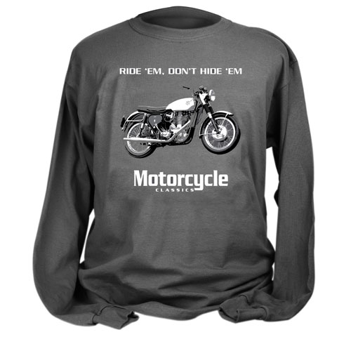 MOTORCYCLE CLASSICS LONG SLEEVE, BSA GOLD STAR (S)