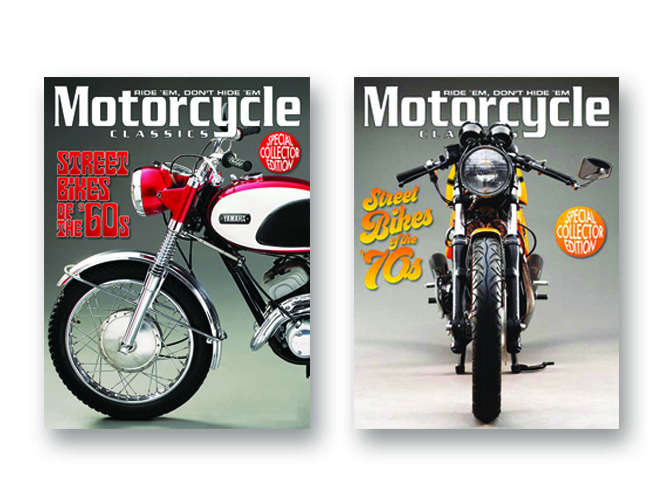 MCC Street Bikes of the 60s & 70s Package