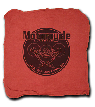 MOTORCYCLE CLASSICS SHOP TOWEL
