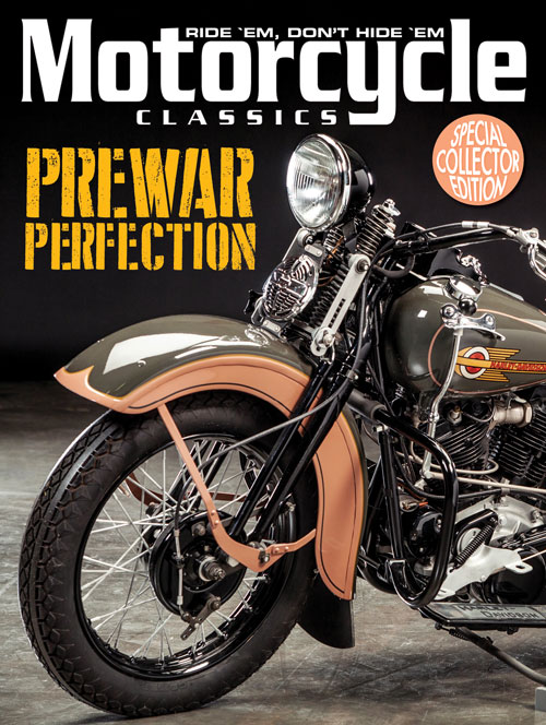 MOTORCYCLE CLASSICS PREWAR PERFECTION SPECIAL COLLECTOR EDITION