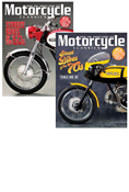 MOTORCYCLE CLASSICS STREET BIKES OF THE '60S & '70S SET
