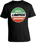 LAVERDA T-SHIRT, BLACK (SMALL)