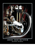 DANIEL PEIRCE ART MAGNET - ARIEL RED HUNTER
