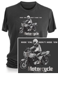MOTORCYCLE CLASSICS SHORT SLEEVE T-SHIRT - SMALL - KZ1000