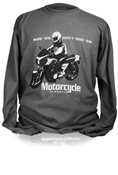 MOTORCYCLE CLASSICS LONG SLEEVE T-SHIRT - SMALL - KZ1000