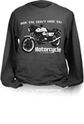 MOTORCYCLE CLASSICS LONG SLEEVE T-SHIRT - SMALL - LE MANS