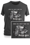 MOTORCYCLE CLASSICS SHORT SLEEVE T-SHIRT - SMALL - COMMANDO