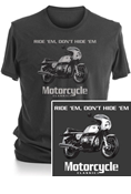 MOTORCYCLE CLASSICS SHORT SLEEVE T-SHIRT - SMALL - BMW R90S
