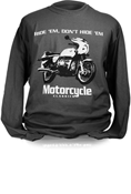 MOTORCYCLE CLASSICS LONG SLEEVE T-SHIRT - SMALL - BMW R90S