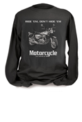 MOTORCYCLE CLASSICS LONG SLEEVE T-SHIRT - SMALL -  HONDA CB750