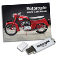 MOTORCYCLE CLASSICS 2019 CALENDAR & ARCHIVE GIFT SET