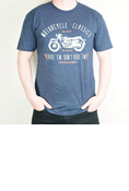 MOTORCYCLE CLASSICS NAVY SHORT-SLEEVE T-SHIRT